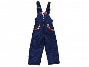 Полукомбинезон текстильный для девочек