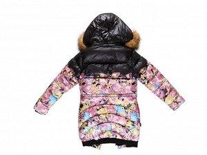 Пальто текстильное для девочек