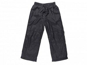Брюки текстильные для мальчиков утеплённые