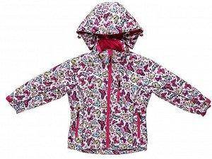 Комплект текстильный для девочек: куртка, брюки