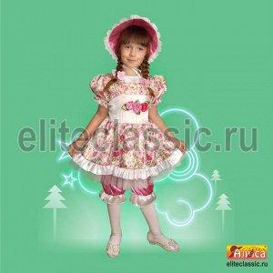Атласный костюм Куклы на Новый год!