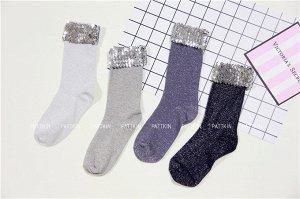 Носки с пайетками