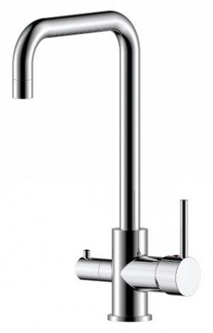 Z35-29 Смеситель одноручн. (35 мм) для кухни с выс. пов. изл. с подкл. к фильтру питьевой воды, хром