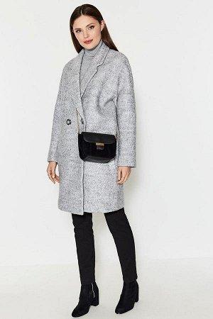 Пальто жен. Kirao серый