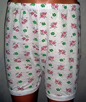 Панталоны гладкие цветные