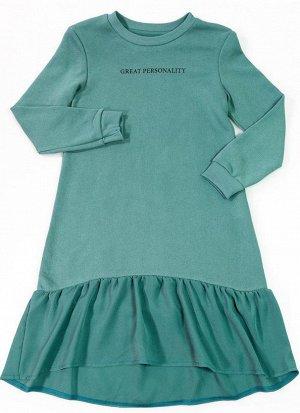 Платье трикотажное ., спортивное