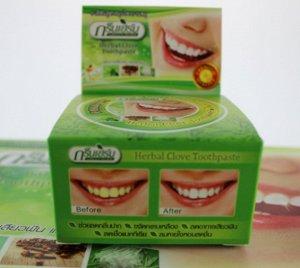 Тайская травяная зубная паста ЗЕЛЕНЫЕ ТРАВЫ
