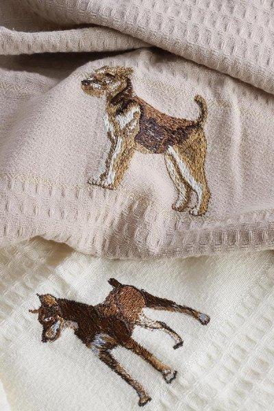 ⚡Срочно!⚡Нельзя откладывать! Ликвидация💕Турция💕Лучшее👍 — Полотенца с собачкой.Красивые. .остатки — Кухонные полотенца