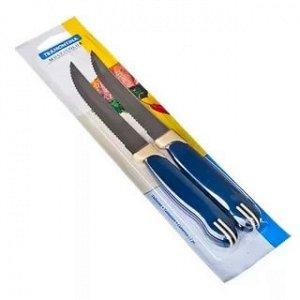 """""""TRAMONTINA"""" Multicolor"""" Набор ножей для мяса 2шт. 12,7см 871-354"""