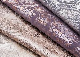 Обивка №29💎 Мебельные ткани и Кожзам (+комплектующие) — Мебельная ткань FLORA Paisley (Жаккард) — Занавески