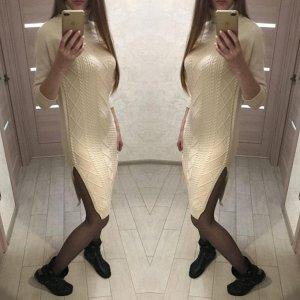 Платье Любимый всеми девушками наряд – платье. Одной из самых необычных его моделей является платье-водолазка. Загадочное, элегантное, сексуальное. Необыкновенно мягкое! Кашемир Размер 44-48 Длина - 1