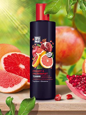 """Тоник """"Гранат&грейпфрут"""" для всех типов кожи 250 г"""