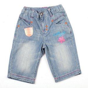 Шорты джинсовые ГОЛУБОЙ