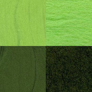 Набор шерсти для валяния цвет Ассорти №7