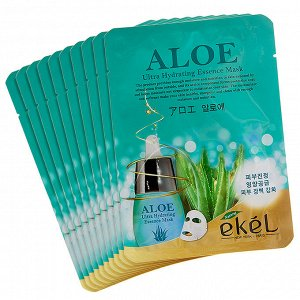 EKEL Aloe Ultra Hydrating Essence Mask Маска с экстрактом алоэ
