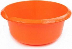 Миска Миска  5,0л МАНДАРИН. Большой объем и удобный носик для слива жидкости делают миску на 5 литров очень практичной посудой не только для кухни, но и для сада и огорода. В такой емкости можно готов