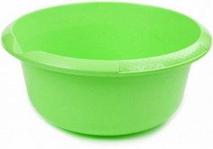 Миска Миска 5,0л САЛАТНЫЙ. Большой объем и удобный носик для слива жидкости делают миску на 5 литров очень практичной посудой не только для кухни, но и для сада и огорода. В такой емкости можно готови