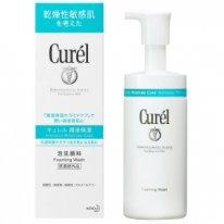Пенка для умывания для сухой чувствительной кожи Curel Foaming Wash, 150 мл