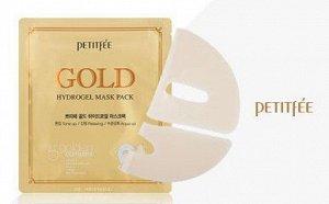 PETITFEE Gold HydrogelМаска д/лица гидрогел. c ЗОЛОТОМ , 32 гр