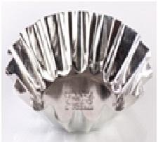 Форма для выпечки кекса, d 95 мм, белая жесть, 1/300