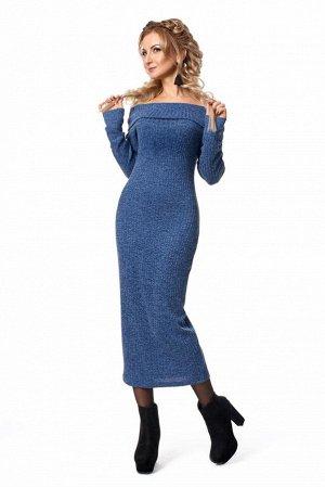 Платье тонкой вязки р.44