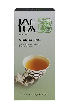 Чай JAF Green Jasmine зеленый с жасмином, 25пак