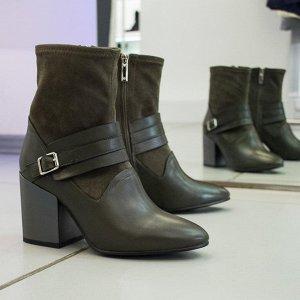 ботильоны бронза | Sasha Fabiani ВЕСНА. Женская обувь