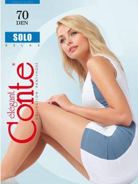 Solo 70 колготки (Conte) полуматовые, усиленной верхней частью