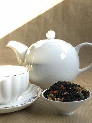Чай Печенье и апельсин