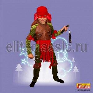 Карнавальный костюм детский Черепашка ниндзя
