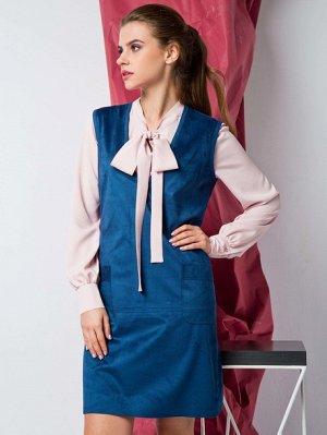 Стиль платье синий