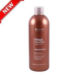 Нейтрализатор для долговременной завивки волос «Magic Keratin» – 500 мл