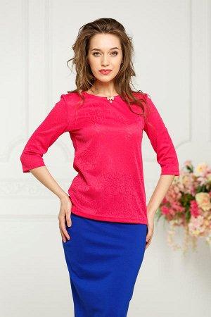 Блузка Рафаэлла №2.Цвет:фуксия