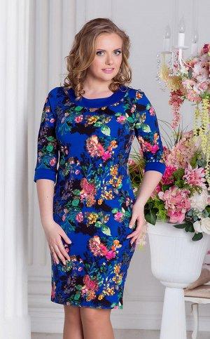 Платье Мишель.синий