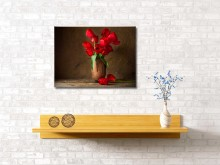 "Картина ""Яркие тюльпаны"" 60*40"