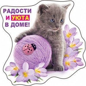 51.16.632 Виниловый магнит Радости и уюта в доме!...