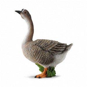 Гусь (M) Фигурка гуся (М) ТМ Collecta из серии «Домашние животные» Гусь – один из самых распространенных видов домашних птиц. Фигурка гуся пополнит арсенал игрушек вашего ребенка и станет основой для
