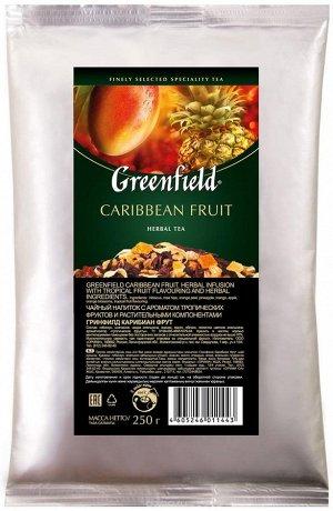 Фруктовый чай листовой Greenfield Caribbean Fruit, 250 г