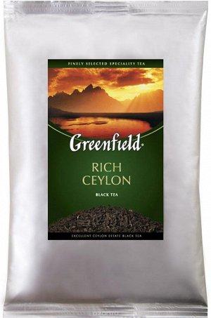 Черный чай листовой Greenfield Rich Ceylon, 250 г