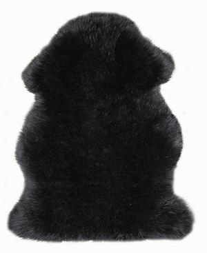 Шкура из овчины 1-шкурная LWP90 0,6*0,90 black