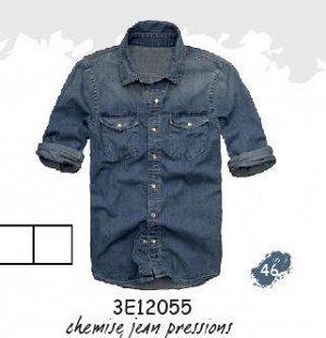 3E12055 SHIRT 46 : Indigo