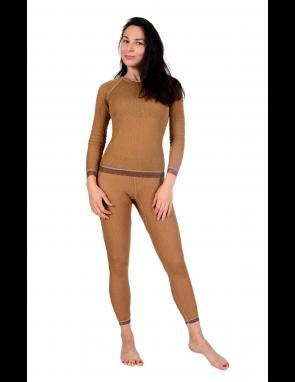 Фуфайка (термо) женская однослойная из верблюжьей шерсти на рост 158-164 см.