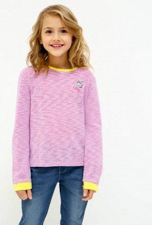 Джемпер детский для девочек Dariya светло-фиолетовый