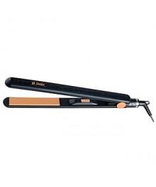 Выпрямитель для волос DELTA DL-0531 керамич.пластины, черный (24/уп)
