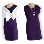 Платье N 73303 син 128-152/5*