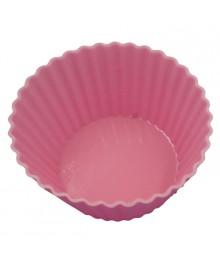 """Форма для выпечки кексов AK-6054S/6 набор 6 шт """"Маффины"""" розовый 7*5см"""