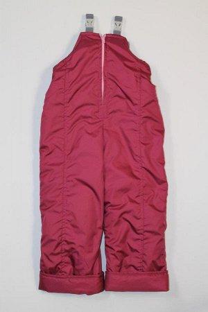 Демисезонные брюки- полукомбинезон