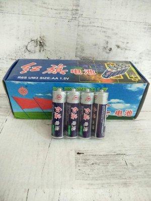 Батарейки АА -1,5V. Батарейки пальчиковые. Цена за коробку 40 штук. (10 спаек). Цена за 1 шт.=4,7 рубля