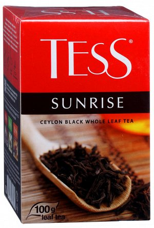 Чай Тесс Sunrise black tea 100г 1/15