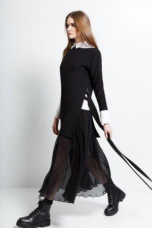 Комплект юбка+жилет